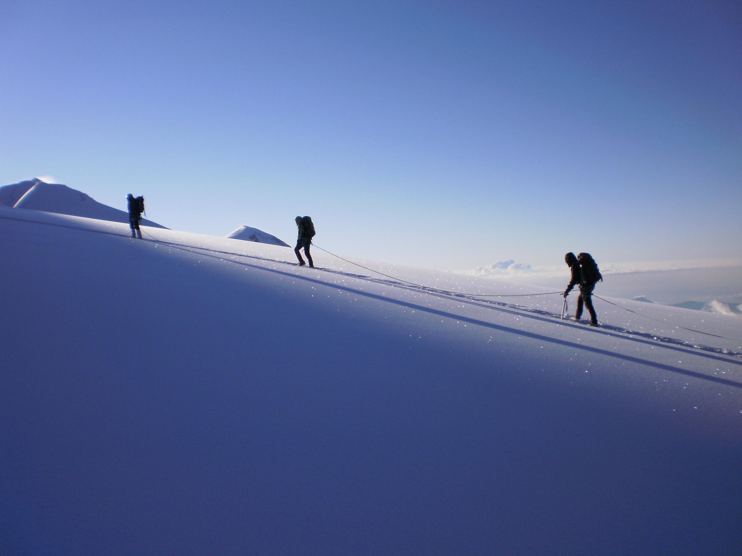 Cordée montagne