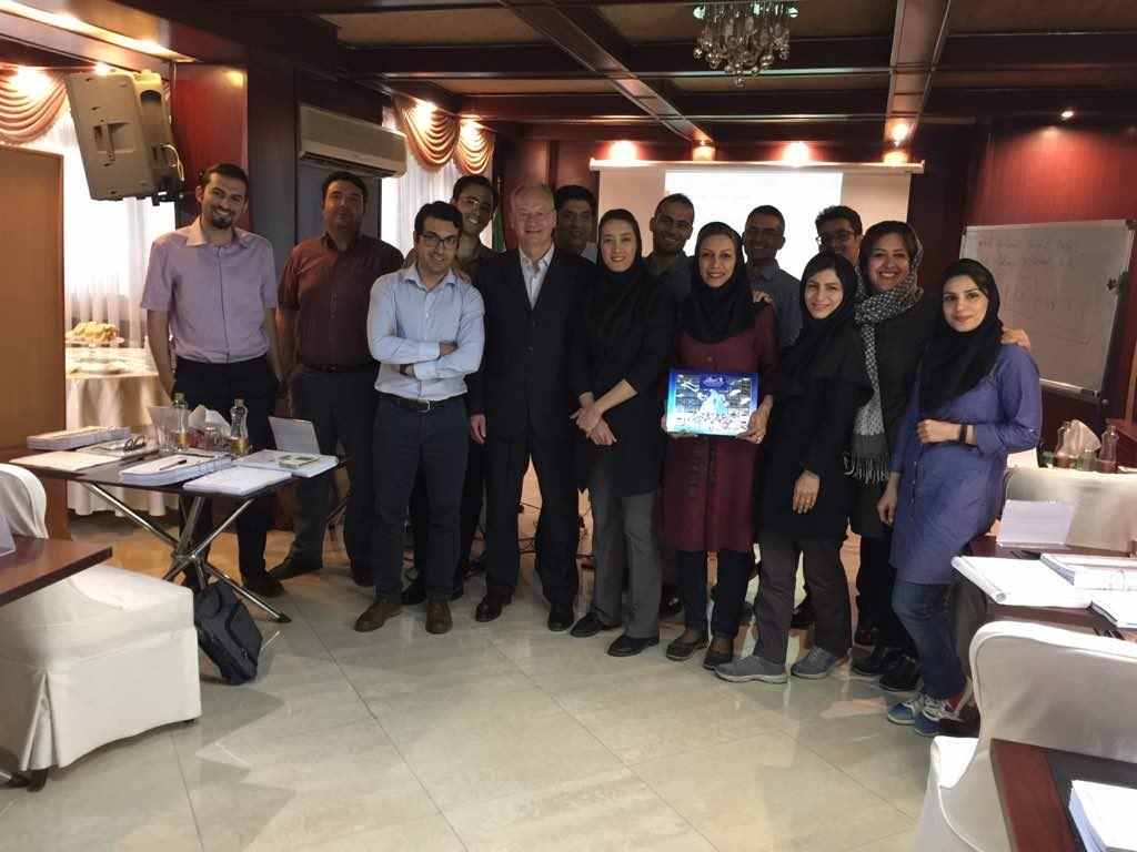 SCABA Iran diplômés